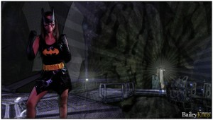 Bailey Knox is Batman!
